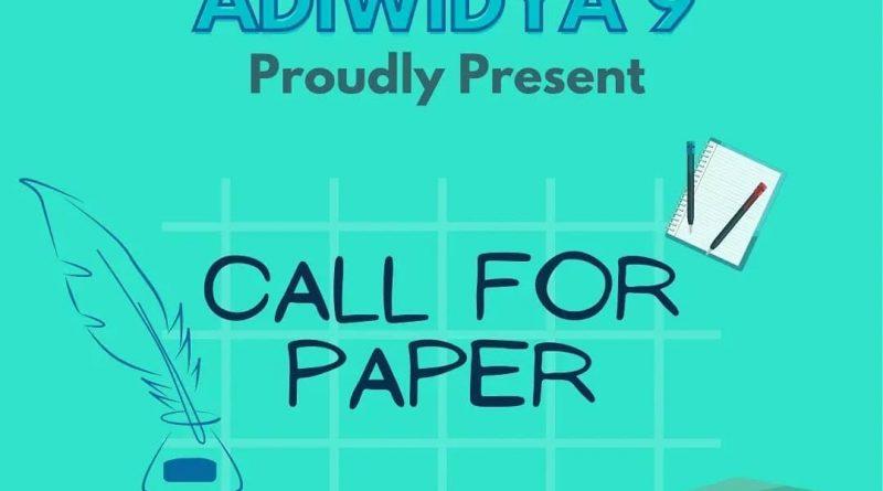 CALL FOR PAPER ADIWIDYA 9